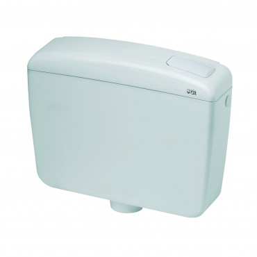 Καζανάκι πλάτης πλαστικό Plus 1 CR smart