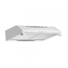 Απορροφητήρας 60cm απλός λευκός με μεταλλικά φίλτρα  Pyramis 065100101