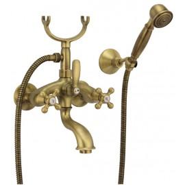 Μπαταρία μπάνιου Margot bronze Fiore Rubinetterie 26061100