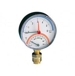 Θερμομανόμετρο κάθετο PINTOSSI 571