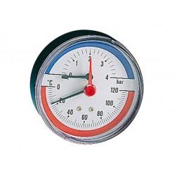 Θερμομανόμετρο οριζόντιο PINTOSSI